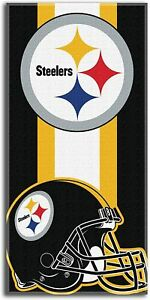 Pittsburgh Steelers Fans Beach Towel Soft Shower Towel Quick Drying 30x60 Inches