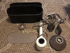 DYSON SUPERSONIC HAIR DRYER HD01 White/Silver -- w/ SENSICO Portable Travel Case