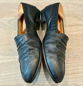 Gucci Men's Ostrich Loafers size 47.5 = US 14