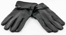 Classic Black Sheep Skin Gloves Women's Warm Lined 100% Authentic New X/Xl