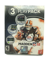 Madden NFL 12 3 Playpack (Sony Playstation 3, 2011) PS3 Football New