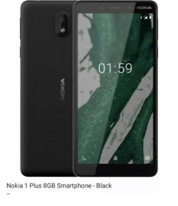 Nokia 1 Plus TA-1111 - 4G Android Smart Phone / Black / 8GB / Unlocked