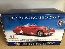 New Listing1/24 Franklin Mint 1937 Alfa Romeo 2900B