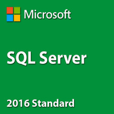SQL Server 2016 Standard 20 Cores Unlimited CAL Product Key/ 30 Sec Delivery