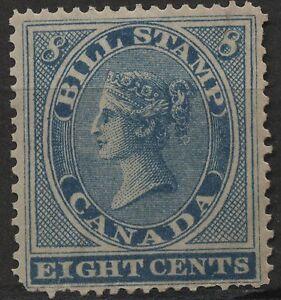 Canada Revenue VanDam # FB8 - 8c blue bill stamp of 1864 MNH