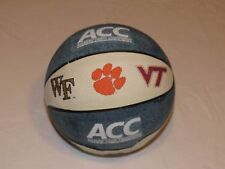 Baden mini ball college basketball football RARE Atlantic Coast Conference VT CT