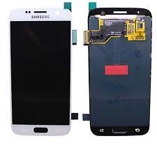 100% originale Samsung Galaxy s7 sm-g930f TOUCH SCREEN DISPLAY LCD BIANCO NUOVO