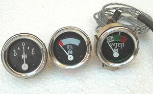 IH / Farmall  Oil Pressure Gauge Temp Ammeter for A , B,  Super A, A1, Super C