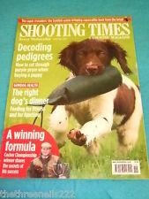 SHOOTING TIMES - DECODING PEDIGREES - MAY 11 2011