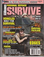 AMERICAN HANDGUNNER MAGAZINE PERSONAL DEFENSE FALL/WINTER 2013.SPECIAL EDITION