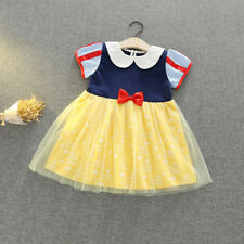 Kids Baby Girls Princess Anna & Snow White Dress Up Fancy Party Costume Cosplay
