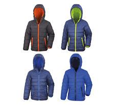 Cappotti e giacche con cappuccio blu per bambine dai 2 ai 16