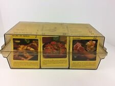 Vintage 1998 My Great Recipes 1000+ Cards Box 33 Categories Printed in Holland