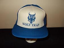 VTG-1980s Wolf Trap trucker retro mesh snapback hat sku24