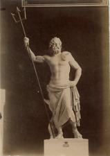 Poseidon Vintage albumen Print Tirage albuminé  13x18  Circa 1880