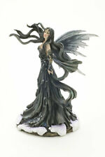 Nene Thomas Aria Fairy Statue Faery Figurine Fantasy Black and White Wings Rare