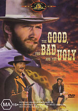 THE GOOD THE BAD & THE UGLY Clint Eastwood DVD R4 - PAL - New