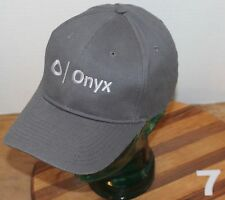 VERY NICE GRAY ONYX HAT, STRAP ADJUSTABLE IN EXCELLENT CONDITION