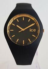 Ice-Watch ICE 007235 loulou schwarz gold M Ø 40 mm Damenuhr Uhr neu Silikon 141