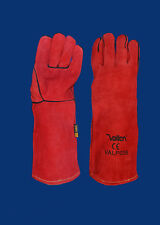 12 x Vallen kevlar stitched lined leather welding gloves size small mens /womens