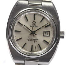 Vintage OMEGA Seamaster Date Silver Dial Cal.684 ladies Watch _346386