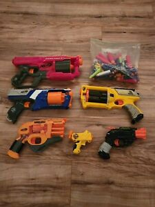Assorted Nerf Guns (6) & Assorted Darts - Pick Any! (Used, Good Condition)