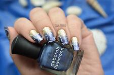 NEW! Deborah Lippmann HARLEM NOCTURNE Nail Polish ~ Indigo Ink Metallic Blue