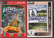 Coaster 3 + Camping Simulateur Collection Jeux PC