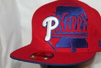 Philadelphia Phillies New Era MLB Philly Bell Solid 59Fifty,Cap,Hat     $ 40 NEW