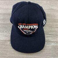 Denver Broncos NFL Football 1997 AFC Conference Champions Cap Hat blue snapback