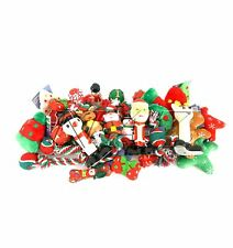 Pack of 5 Christmas Dog Toys Squeaky, Plush, and Rope Toys for  Pet Puppy Gift