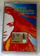 ALANIS MORISSETTE - UNDER RUG SWEPT -  Cassette Tape MC K7 Sealed