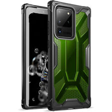 Galaxy S20 Ultra Case,Poetic Lightweight Shockproof Protective Cover Green