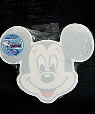 Walt Disney Mickey Mouse Face Notepad Magnetic Back New
