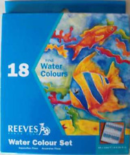 Reeves Watercolour Paint Set 18 x 12 ml Tubes