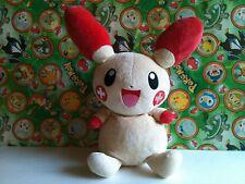 "Pokemon Plush Plusle 13"" Heartland Big stuffed Bean Bag Doll figure Us Seller"
