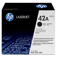 ORIGINALE HP TONER Q5942A NERO LaserJet 4250 4350 NUOVO