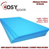 Electric Underfloor Heating Insulation Boards 20mm XPS Tile Stone Wood Concrete