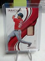 2019 Panini Immaculate Collection Juan Soto #61 13/49 SP Bat Relic Baseball