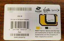 NEW SPRINT SIMOLW506TQ  BYOD TRIPLE CUT SIM CARD BOOST & VIRGIN MOBILE