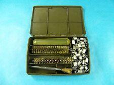 H&K .30 Caliber 9mm Rifle Pistol Gun Cleaning Kit Military Surplus Cracked Case!