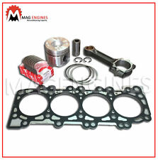 PISTON WITH RING+CON ROD+BEARINGS+HEAD GASKET NISSAN YD25 FOR D22 NAVARA 00-06