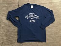University of Toronto Adult Mens Medium Tee T Shirt Long Sleeve Blue