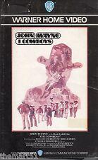 I Cowboys (1972) VHS Warner Video 1a Ed.   John Wayne  CULT