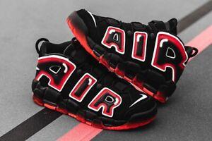 Size 9.5- Nike Air More Uptempo '96 Laser Crimson 2019