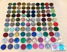 Pokemon 100 Vintage Collectible Coins all different