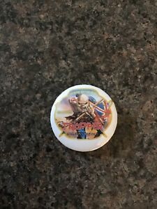 Iron Maiden Trooper Beer 32mm Pin Button Badge. Robinsons Brewery.