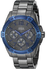 GUESS W0601G1,Men's Multi-function,Stainless Steel Case,BRAND NEW WITH TAG & BOX