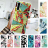 For Huawei P30 Pro P20 Lite P Smart Z Shockproof Painted Soft Gel TPU Case Cover
