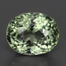 4.90 Cts AWESOME RARE GOOD TOP LUSTROUS NATURAL NICE MINT GREEN TOURMALINE OVAL